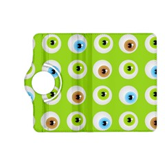 Eyes Background Structure Endless Kindle Fire Hd (2013) Flip 360 Case by Nexatart