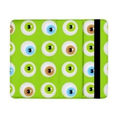 Eyes Background Structure Endless Samsung Galaxy Tab Pro 8 4  Flip Case by Nexatart