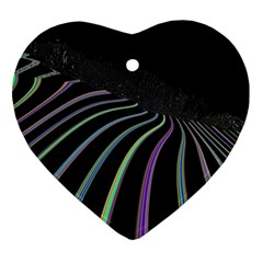 Graphic Design Graphic Design Heart Ornament (two Sides) by Nexatart