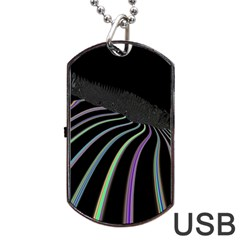 Graphic Design Graphic Design Dog Tag Usb Flash (one Side) by Nexatart