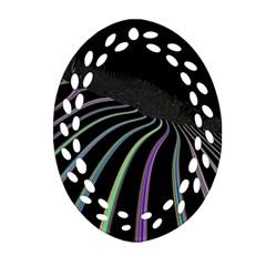 Graphic Design Graphic Design Oval Filigree Ornament (two Sides)