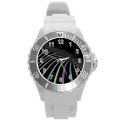Graphic Design Graphic Design Round Plastic Sport Watch (l) by Nexatart