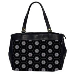 Mandala Calming Coloring Page Office Handbags (2 Sides)  by Nexatart