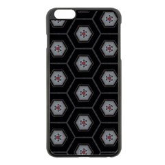 Mandala Calming Coloring Page Apple Iphone 6 Plus/6s Plus Black Enamel Case by Nexatart
