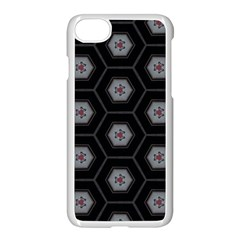 Mandala Calming Coloring Page Apple Iphone 7 Seamless Case (white) by Nexatart