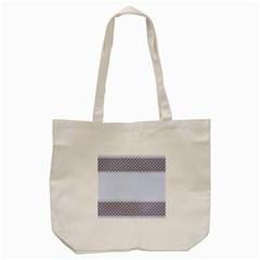 Blue Modern Tote Bag (cream)