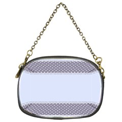 Blue Modern Chain Purses (one Side)