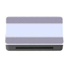 Blue Modern Memory Card Reader With Cf by Nexatart