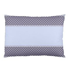 Blue Modern Pillow Case (two Sides)