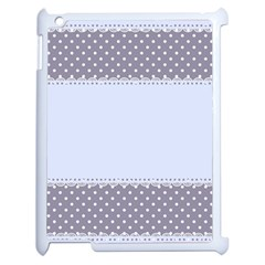 Blue Modern Apple Ipad 2 Case (white)
