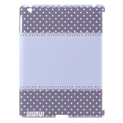 Blue Modern Apple Ipad 3/4 Hardshell Case (compatible With Smart Cover)