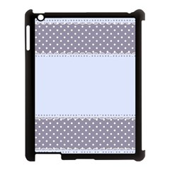 Blue Modern Apple Ipad 3/4 Case (black) by Nexatart