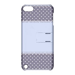 Blue Modern Apple Ipod Touch 5 Hardshell Case With Stand by Nexatart