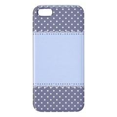 Blue Modern Apple Iphone 5 Premium Hardshell Case