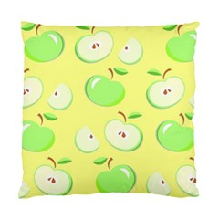 Apples Apple Pattern Vector Green Standard Cushion Case (two Sides) by Nexatart