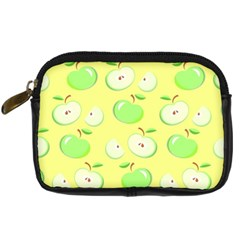 Apples Apple Pattern Vector Green Digital Camera Cases