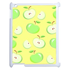 Apples Apple Pattern Vector Green Apple Ipad 2 Case (white)