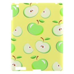 Apples Apple Pattern Vector Green Apple Ipad 3/4 Hardshell Case