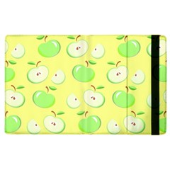 Apples Apple Pattern Vector Green Apple Ipad 2 Flip Case