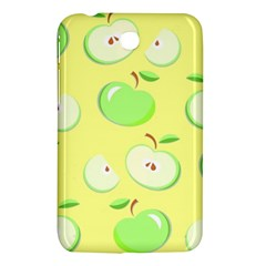 Apples Apple Pattern Vector Green Samsung Galaxy Tab 3 (7 ) P3200 Hardshell Case  by Nexatart