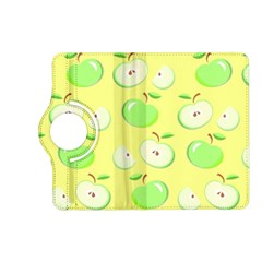 Apples Apple Pattern Vector Green Kindle Fire Hd (2013) Flip 360 Case by Nexatart