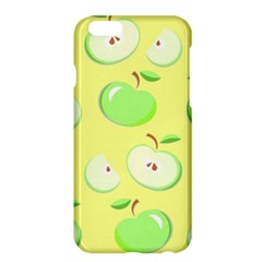 Apples Apple Pattern Vector Green Apple Iphone 6 Plus/6s Plus Hardshell Case by Nexatart