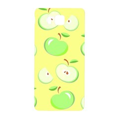 Apples Apple Pattern Vector Green Samsung Galaxy Alpha Hardshell Back Case