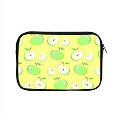 Apples Apple Pattern Vector Green Apple Macbook Pro 15  Zipper Case