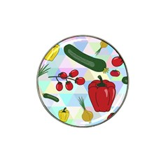 Vegetables Cucumber Tomato Hat Clip Ball Marker (10 Pack)
