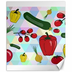 Vegetables Cucumber Tomato Canvas 20  X 24