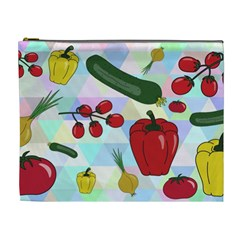 Vegetables Cucumber Tomato Cosmetic Bag (xl)