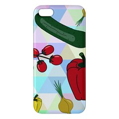 Vegetables Cucumber Tomato Apple Iphone 5 Premium Hardshell Case
