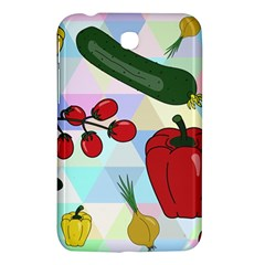 Vegetables Cucumber Tomato Samsung Galaxy Tab 3 (7 ) P3200 Hardshell Case  by Nexatart