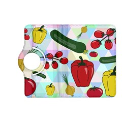 Vegetables Cucumber Tomato Kindle Fire Hd (2013) Flip 360 Case