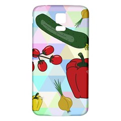 Vegetables Cucumber Tomato Samsung Galaxy S5 Back Case (white)