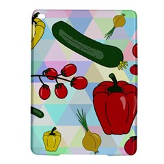 Vegetables Cucumber Tomato Ipad Air 2 Hardshell Cases by Nexatart