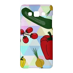 Vegetables Cucumber Tomato Samsung Galaxy A5 Hardshell Case