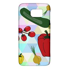 Vegetables Cucumber Tomato Galaxy S6 by Nexatart