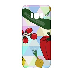 Vegetables Cucumber Tomato Samsung Galaxy S8 Hardshell Case