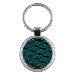 Pattern Vector Design Key Chains (round)