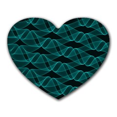 Pattern Vector Design Heart Mousepads by Nexatart