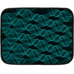 Pattern Vector Design Double Sided Fleece Blanket (mini)