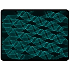 Pattern Vector Design Fleece Blanket (large)