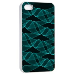 Pattern Vector Design Apple Iphone 4/4s Seamless Case (white)