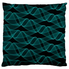 Pattern Vector Design Large Cushion Case (one Side)