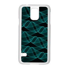 Pattern Vector Design Samsung Galaxy S5 Case (white)