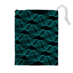 Pattern Vector Design Drawstring Pouches (extra Large)