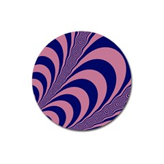 Fractals Vector Background Magnet 3  (round) by Nexatart