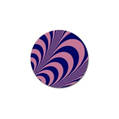 Fractals Vector Background Golf Ball Marker (10 Pack)