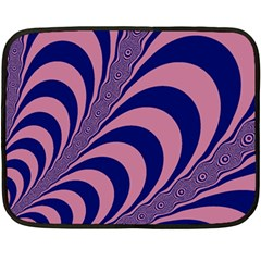 Fractals Vector Background Fleece Blanket (mini) by Nexatart